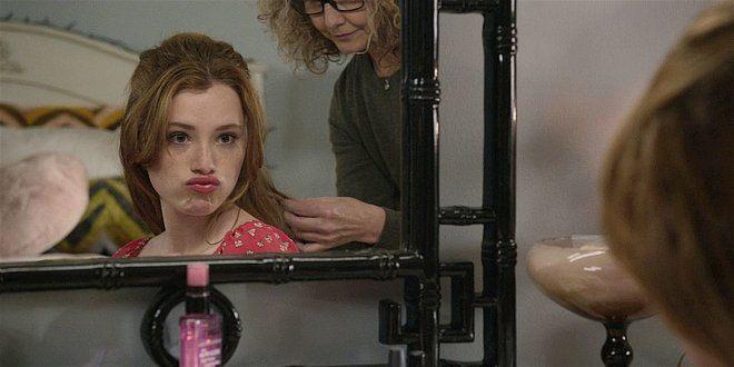 Walker Abeline helping Stella get ready for school dance 108.