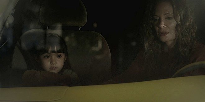 Walker Micki reverts to little girl terrified of storms 108.