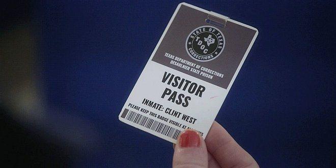 Walker Stella finds prison pass in Trevors pocket 108.