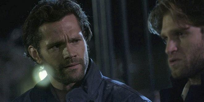 Jared Padalecki goes from shock horror and rage as brother LIam opens up for him Walker 108.