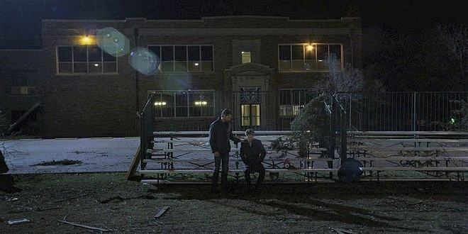 Walker Jared Padalecki reassuring brother Keegan Allen he'll take care of Emily 108.