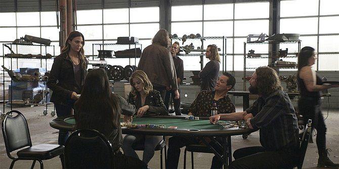 Geri confronts Oswald at poker game Walker Rule Number 17.