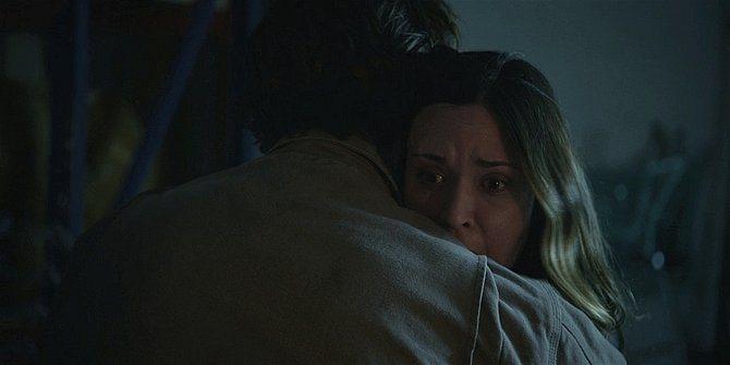 Walker Jared Padalecki comforting Geri after her meltdown 109.