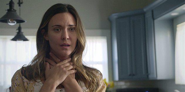 Walker Geri looks horrified as Hoyt askes her to marry him.