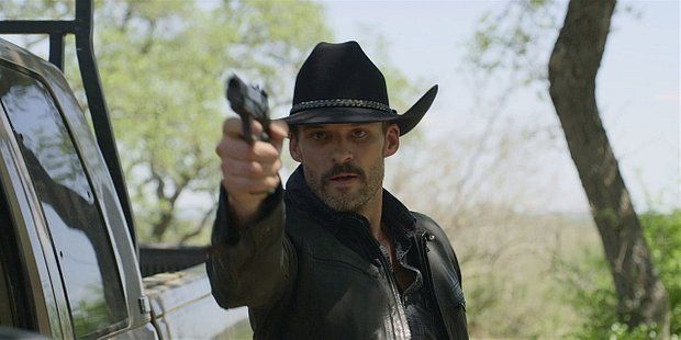 Walker Clint pulling gun on Cordell and family 1.12.
