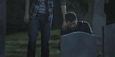 Walker Gavin Casealegno Austin Nichols at mothers grave site 1.12.