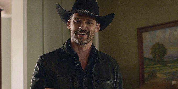 Walker Clint smiling broadly.