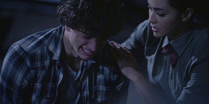 Walker Trevor breaks down over dead father with Micki.