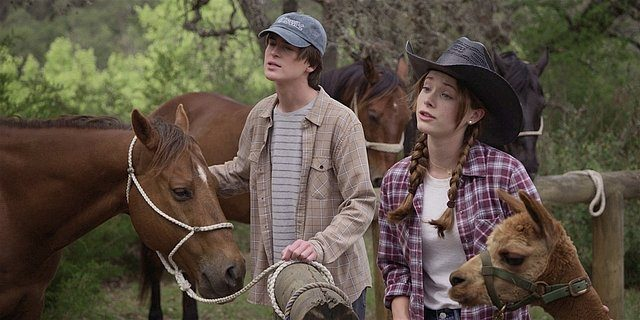 Walker Augie and STella beg Cordell to keep the llama 1.14.