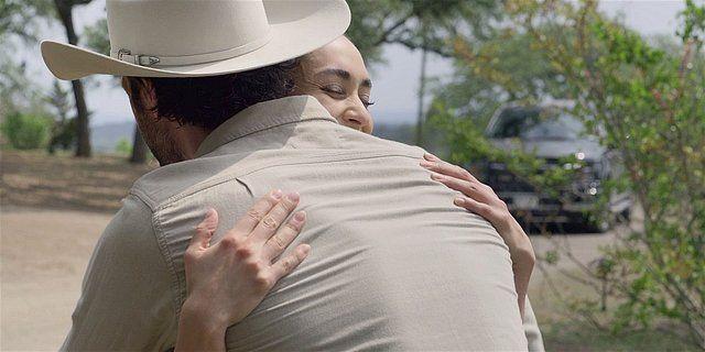 Walker Micki hugging Cordell tight after Hoyts death.