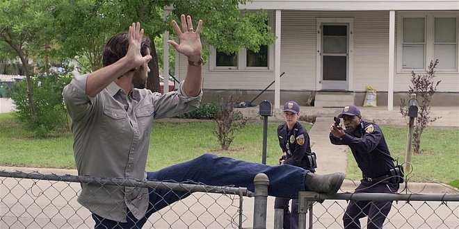 Walker Jared Padalecki caught by police breaking into home.