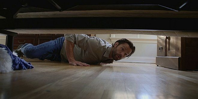 WAlker Jared Padalecki looking under bed for clues to Jensen Ackles divorce papers.
