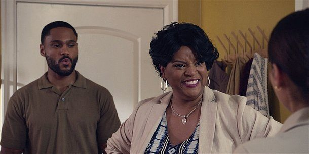 Walker Trey mother pushes grandkids onto Micki.