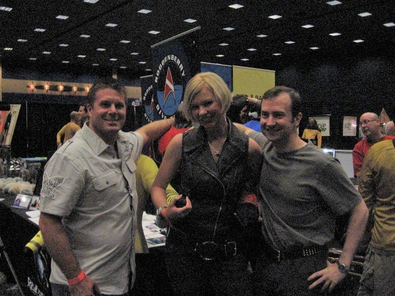 Rod Roddenbly 2012 star trek convention images movie tv tech geeks