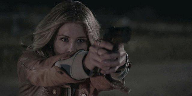Walker Cali shooting Emily in the back killing her.