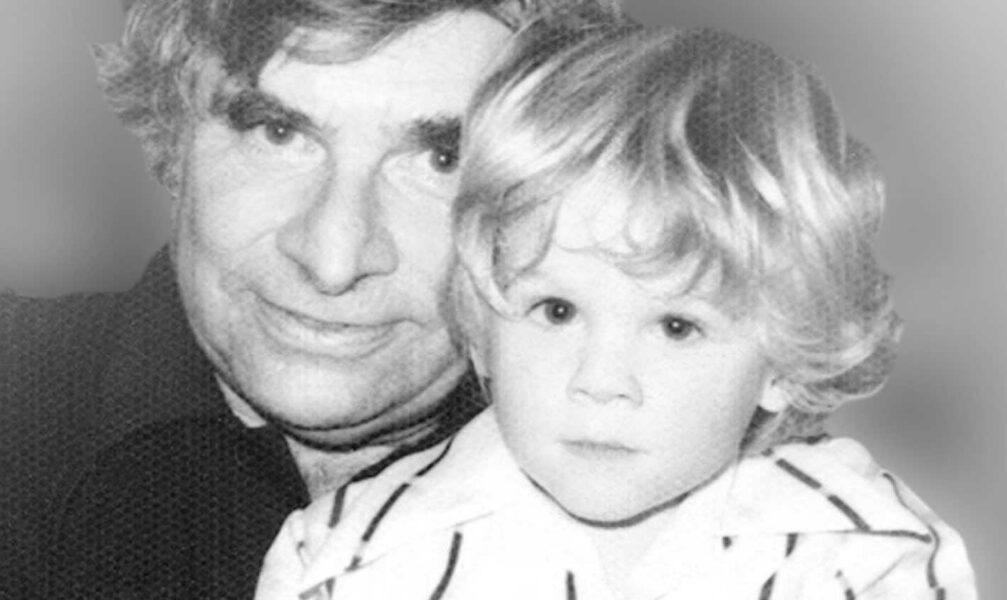 gene roddenberry with young son rod