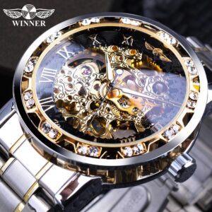 winner transparent hottest luxury mens watches
